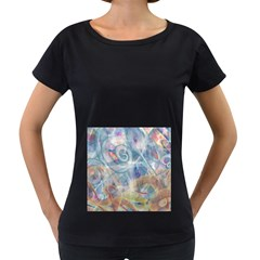Spirals Women s Loose Fit T Shirt (black)