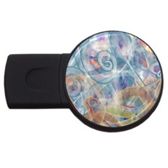 Spirals Usb Flash Drive Round (4 Gb)
