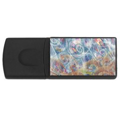 Spirals Usb Flash Drive Rectangular (4 Gb)