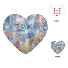 Spirals Playing Cards (heart)