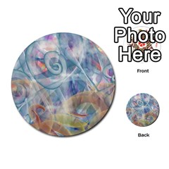 Spirals Multi Purpose Cards (round)