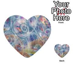 Spirals Multi Purpose Cards (heart)