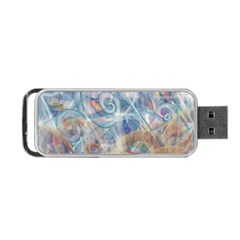 Spirals Portable Usb Flash (two Sides)
