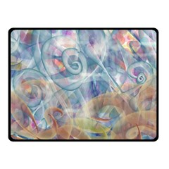 Spirals Double Sided Fleece Blanket (small)