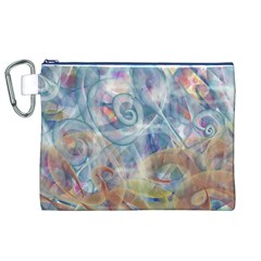 Spirals Canvas Cosmetic Bag (XL)