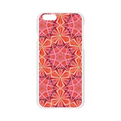 12 pointed star  Apple Seamless iPhone 6/6S Case (Transparent)