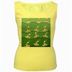 Boats Women s Yellow Tank Top