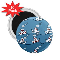 Boats 2.25  Magnets (10 pack)
