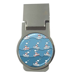 Boats Money Clips (Round)