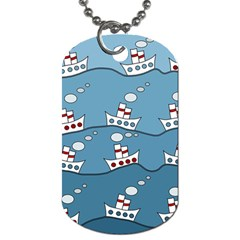 Boats Dog Tag (One Side)