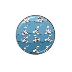 Boats Hat Clip Ball Marker