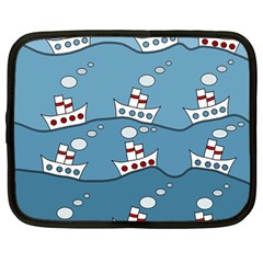 Boats Netbook Case (Large)