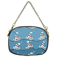 Boats Chain Purses (One Side)