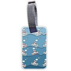 Boats Luggage Tags (One Side)