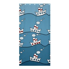 Boats Shower Curtain 36  x 72  (Stall)