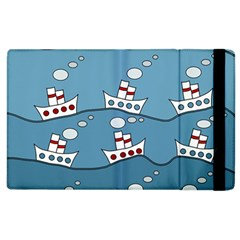 Boats Apple iPad 3/4 Flip Case