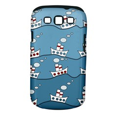 Boats Samsung Galaxy S III Classic Hardshell Case (PC+Silicone)