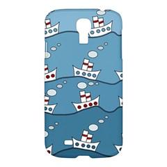 Boats Samsung Galaxy S4 I9500/I9505 Hardshell Case