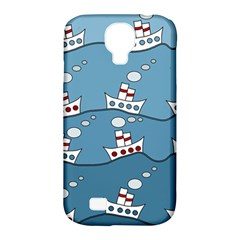 Boats Samsung Galaxy S4 Classic Hardshell Case (PC+Silicone)