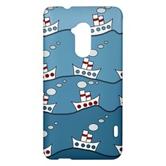 Boats HTC One Max (T6) Hardshell Case