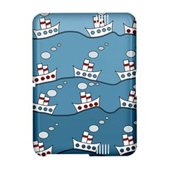 Boats Amazon Kindle Fire (2012) Hardshell Case