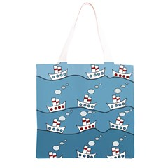 Boats Grocery Light Tote Bag