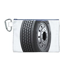 Tire Canvas Cosmetic Bag (M)