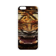 Tiger Face Apple Seamless iPhone 6/6S Case (Transparent)