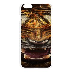 Tiger Face Apple Seamless iPhone 6 Plus/6S Plus Case (Transparent)