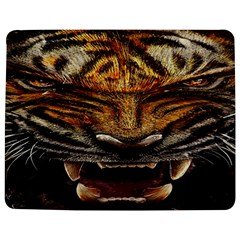 Tiger Face Jigsaw Puzzle Photo Stand (Rectangular)