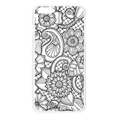 These Flowers Need Colour! Apple Seamless iPhone 6 Plus/6S Plus Case (Transparent)