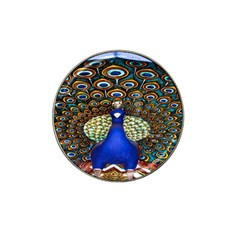 The Peacock Pattern Hat Clip Ball Marker