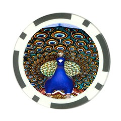 The Peacock Pattern Poker Chip Card Guards (10 pack)