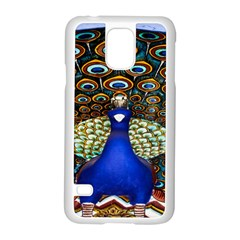 The Peacock Pattern Samsung Galaxy S5 Case (White)