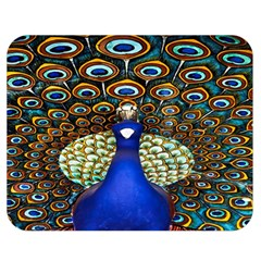 The Peacock Pattern Double Sided Flano Blanket (Medium)