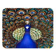 The Peacock Pattern Double Sided Flano Blanket (Large)