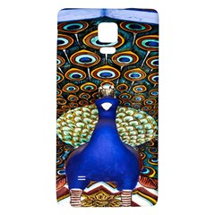 The Peacock Pattern Galaxy Note 4 Back Case