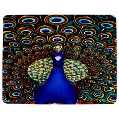 The Peacock Pattern Jigsaw Puzzle Photo Stand (Rectangular)