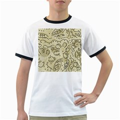 Floral decor  Ringer T-Shirts