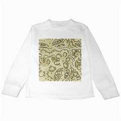 Floral decor  Kids Long Sleeve T-Shirts
