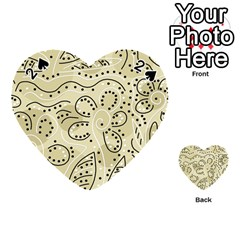 Floral decor  Playing Cards 54 (Heart)