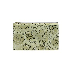 Floral decor  Cosmetic Bag (Small)