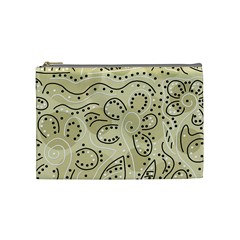 Floral Decor  Cosmetic Bag (medium)