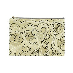 Floral decor  Cosmetic Bag (Large)