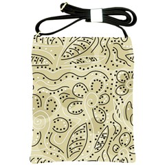 Floral decor  Shoulder Sling Bags