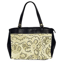 Floral decor  Office Handbags (2 Sides)