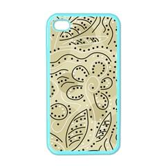 Floral decor  Apple iPhone 4 Case (Color)