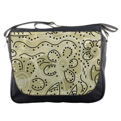 Floral decor  Messenger Bags