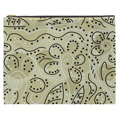 Floral decor  Cosmetic Bag (XXXL)