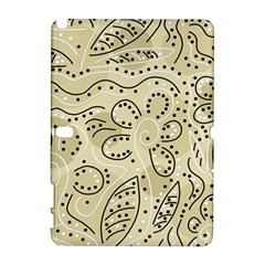 Floral decor  Samsung Galaxy Note 10.1 (P600) Hardshell Case